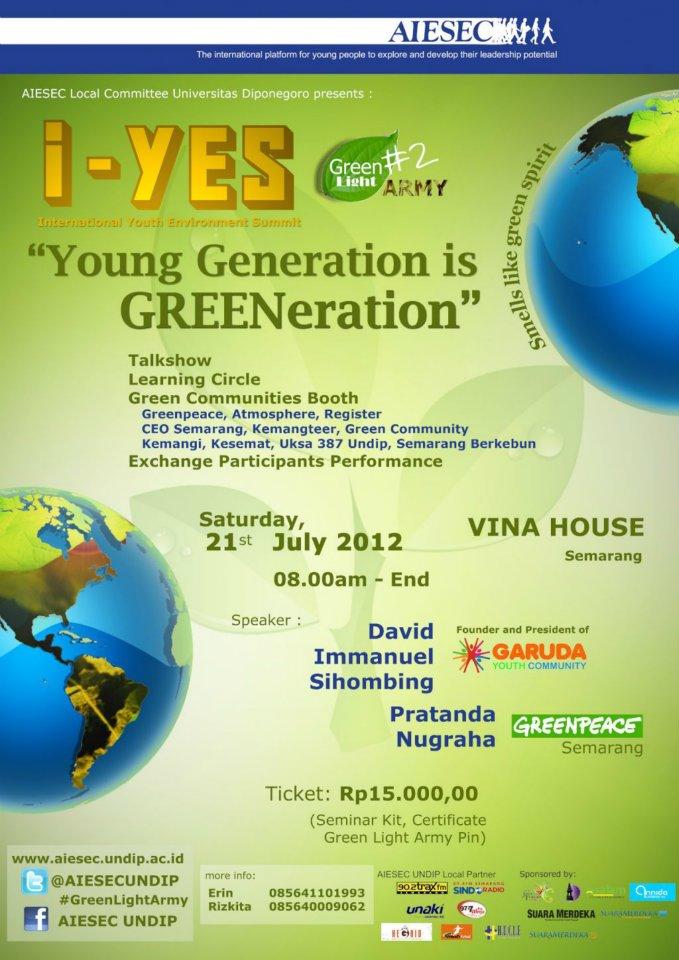 Green Light Army Tumbuhkan Kepedulian Pemuda