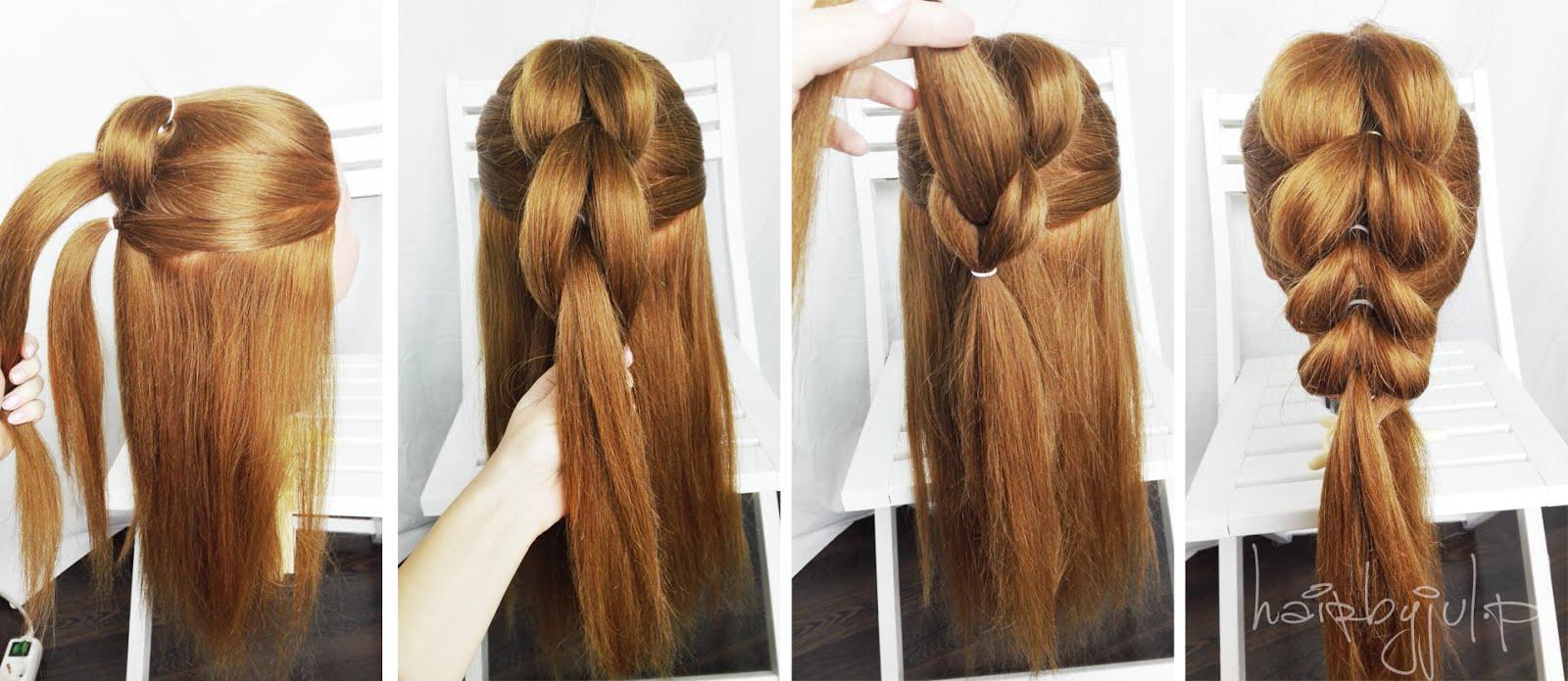 Oszukany Warkocz Pull Through Braid Krok Po Kroku Hair By Jul