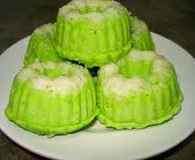 Resep praktis dan mudah membuat makanan kue putu (putri) ayu enak, lezat