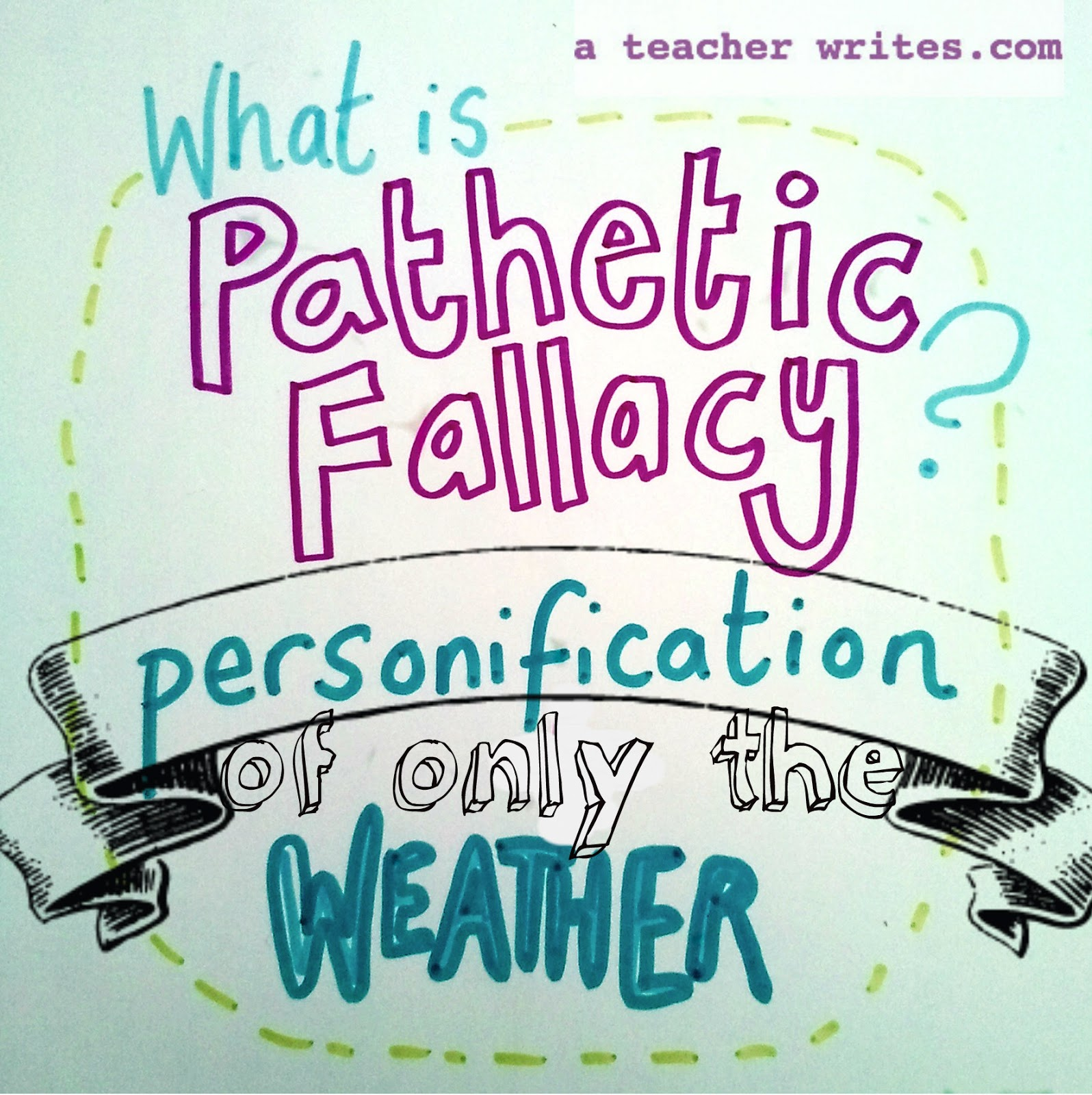 Get examples of Pathetic Fallacy