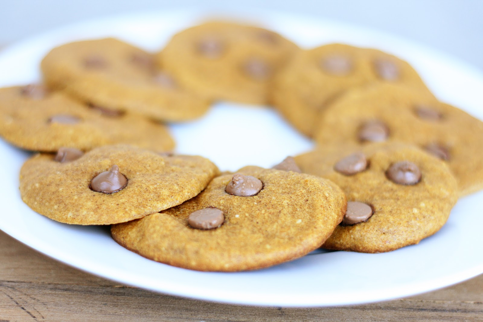 Naughty Carbs: Pumpkin Chocolate Chip Cookies (Low Carb ...