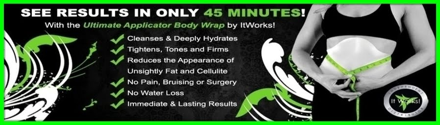45 Minute Results with It Works Body Wraps