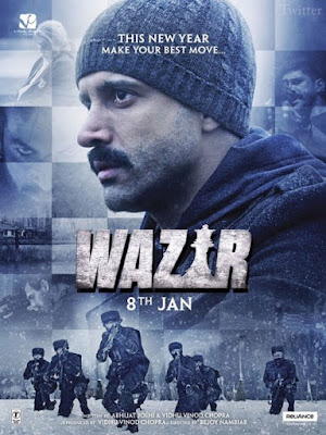 Wazir 2016 Hindi DVDRip 480p 300mb ESub bollywood movie Wazir 300mb compressed small size free download or watch online at world4ufree.cc