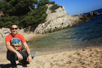 Cap Roig beach in Sant Antoni de Calonge
