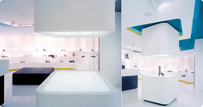 Ignite retail london instore retail design shoe retail for Best retail store design