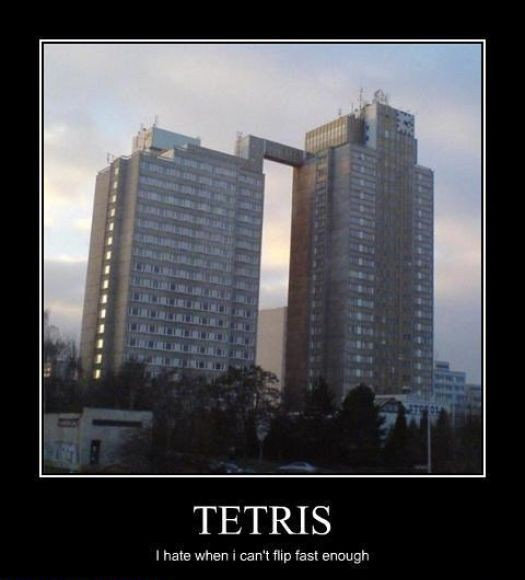 Tetris - I Hate When I Can't Flip Fast Enough