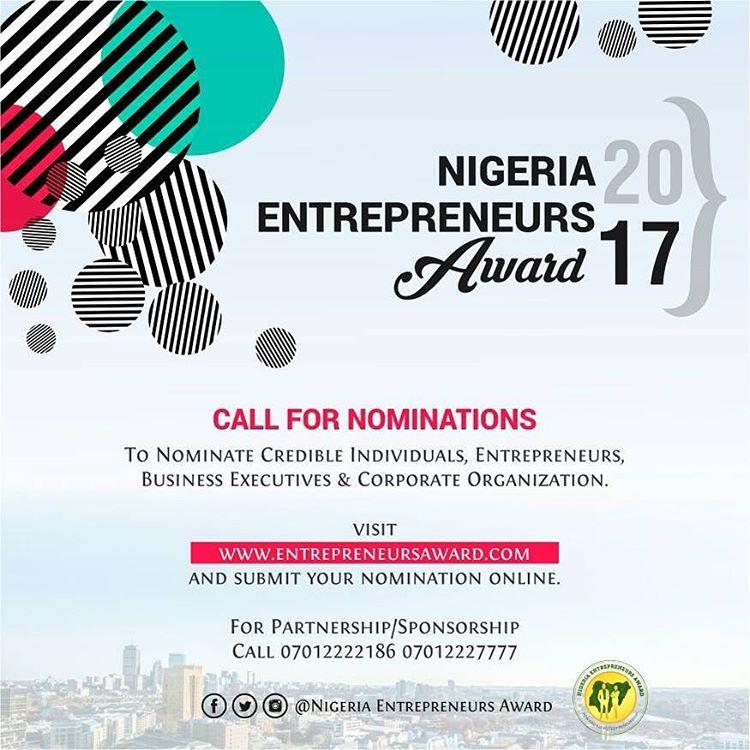 Nigeria Entrepreneurs Award