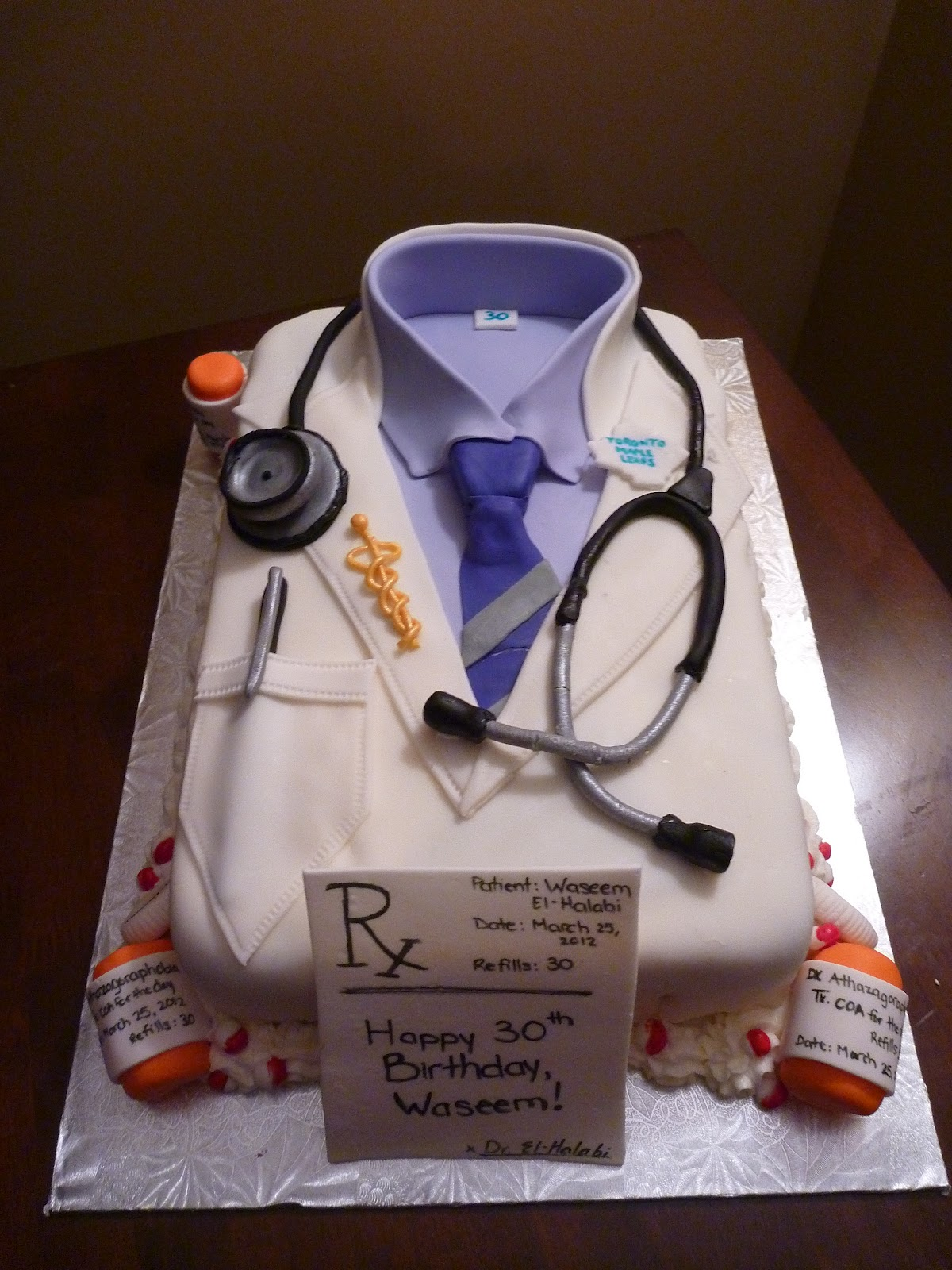 Birthday Cakes For Doctor Image Inspiration of Cake and Birthday