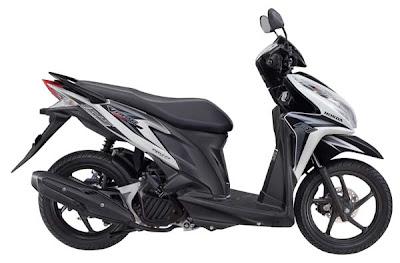 Sepeda Motor Honda Vario Techno 125cc pgm-fi / injeksi pilihan warna putih