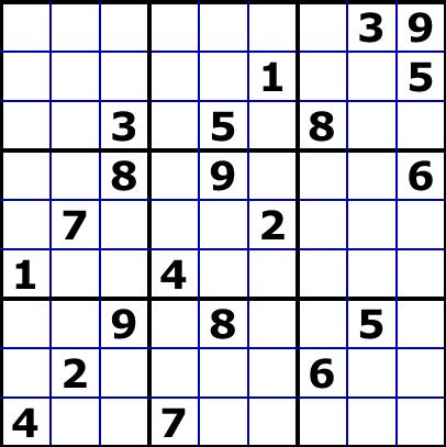 L 39 animalerie num rique le sudoku le plus dur du monde - Grilles sudoku a imprimer 16x16 ...
