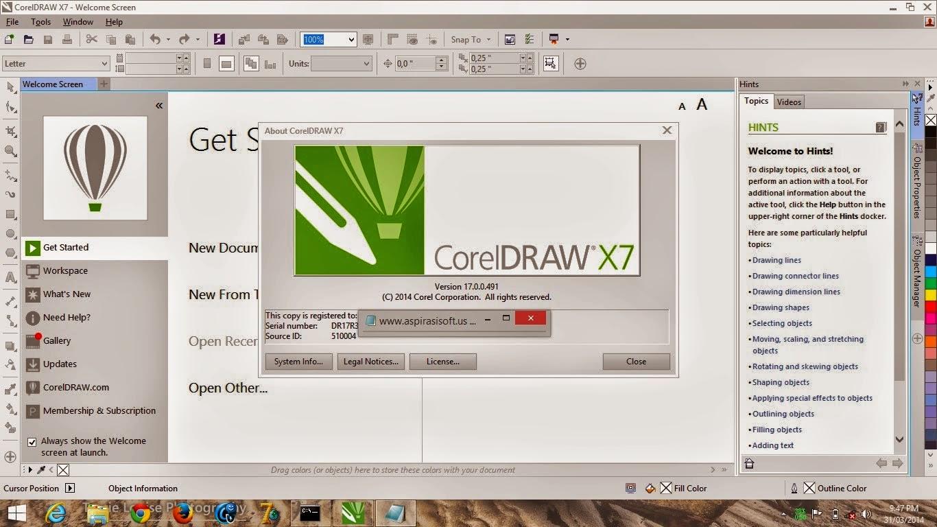 Corel Draw X7 Full Version + Keygen [ Single Link ]