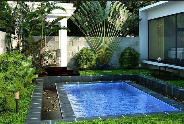 kolam renang dalam rumah 1