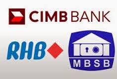 CIMB RHB Dan MBSB Bakal Bentuk Bank Islam Terbesar Malaysia