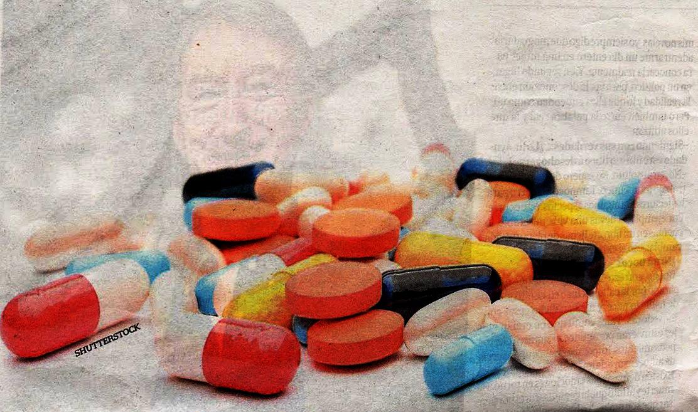Aumento em uma potência em remédios de gente de homens
