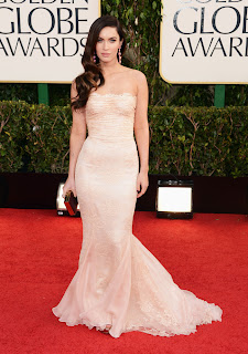 Best-dressed-celebrity-Megan Fox-Golden Globes-2013-Red Carpet-sexy celebrity