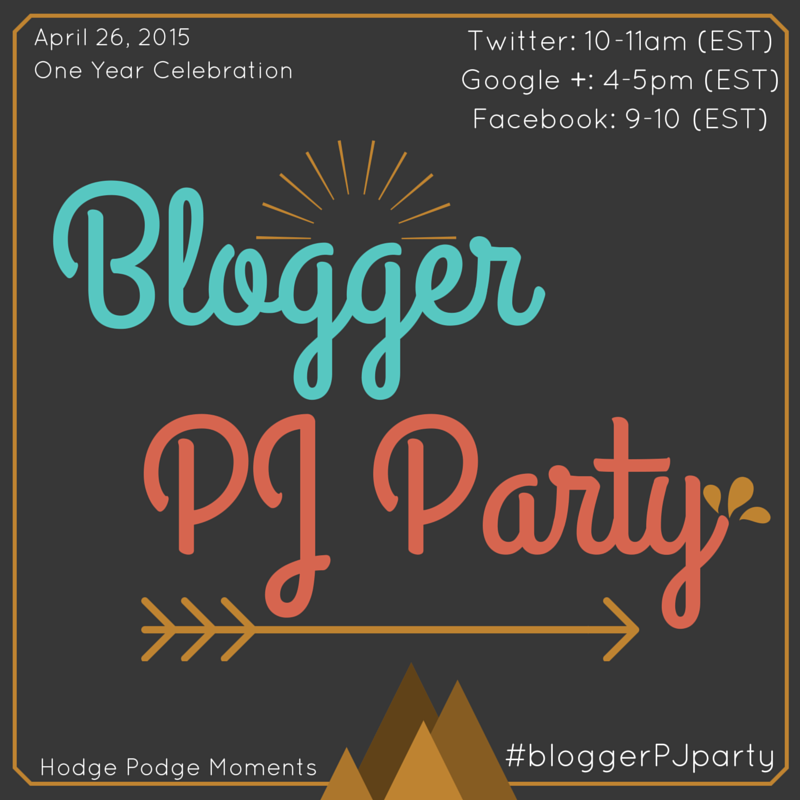 It's #bloggerPJparty day!