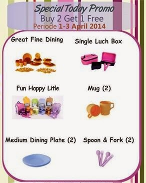 Promo Tulipware 1 sd 3 April 2014