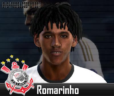 Face Romarinho PES 2012