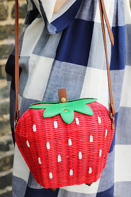 Topshop strawberry bag
