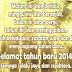 Selamat Tahun Baru 2014 Dari Hanif Idrus Blog