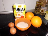 Crema inglesa de naranja che