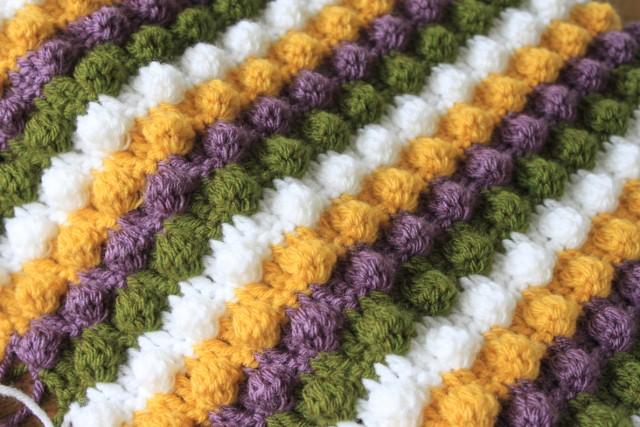 Afghan Crochet Pattern Popcorn Crochet Patterns