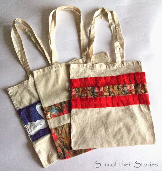 Shopping bag makeovers