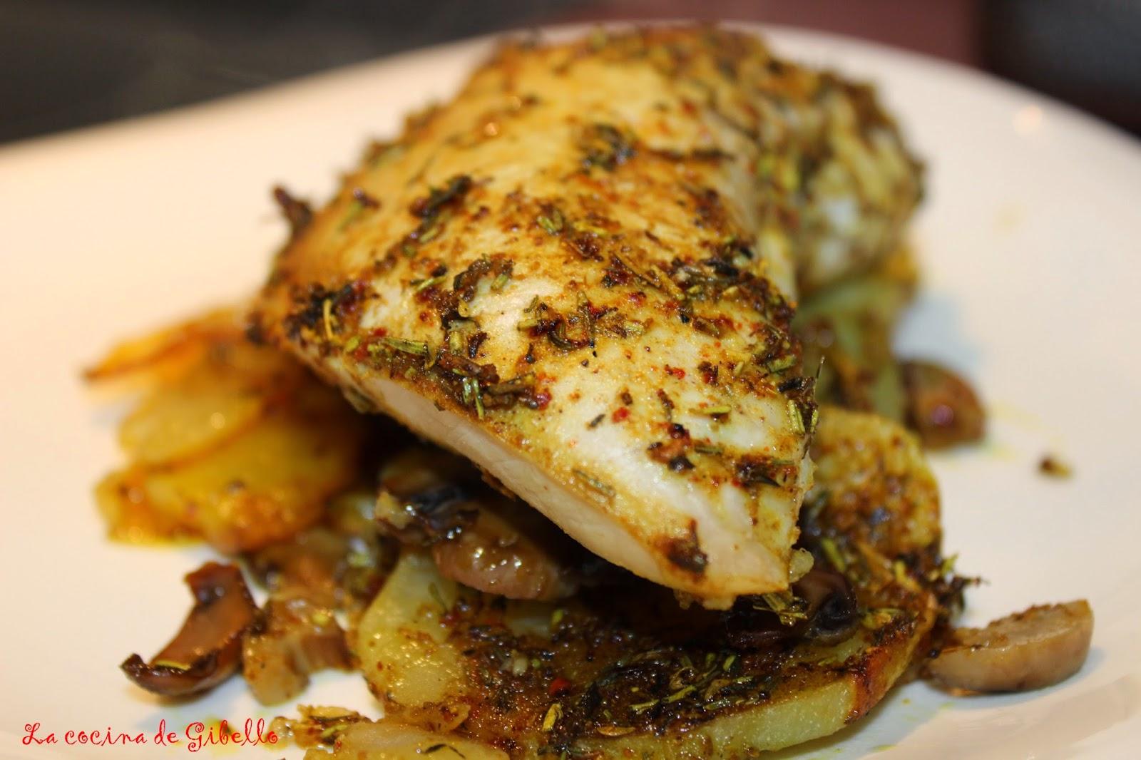 La cocina de gibello solomillo de pavo al horno con salsa - Solomillo de ternera al horno facil ...
