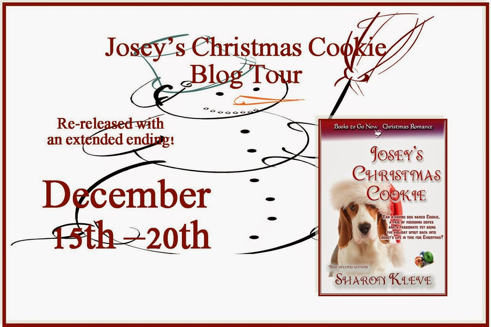 Josey's Christmas Cookie Blog Tour