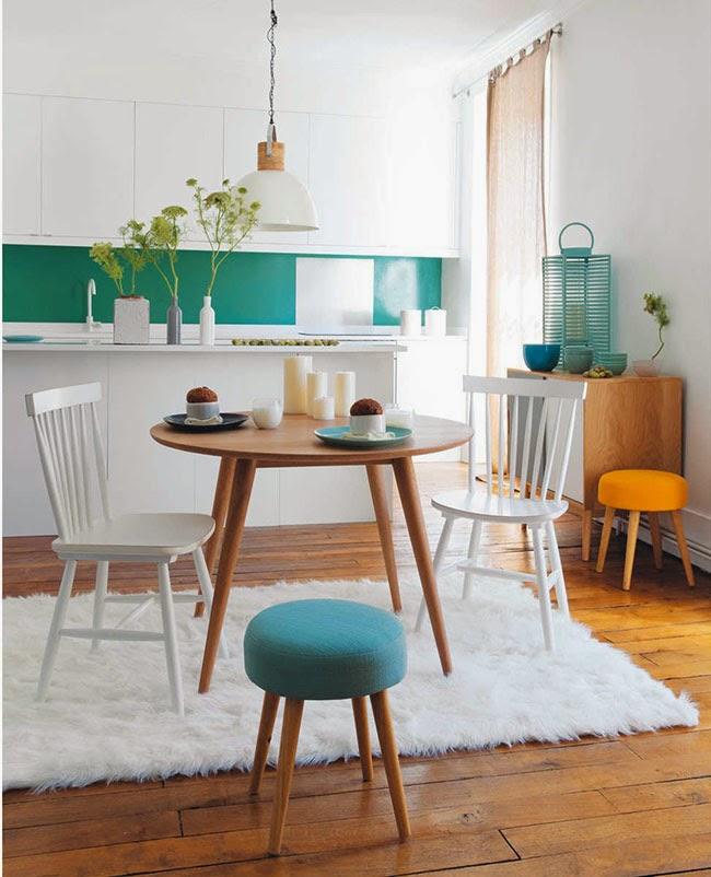 Maisons du monde nuova tendenza nordica home shabby home arredamento interior craft - Maison du monde tavoli pranzo ...