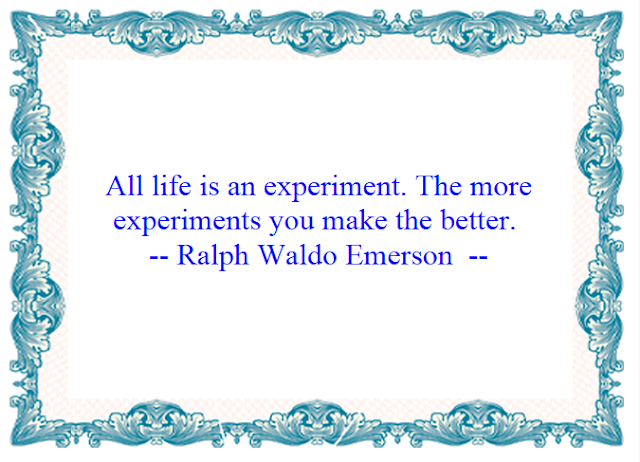 Motivational Quotes : Experiement - Kshitij Yelkar