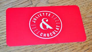 Carte de visite Juliette et Chocolat