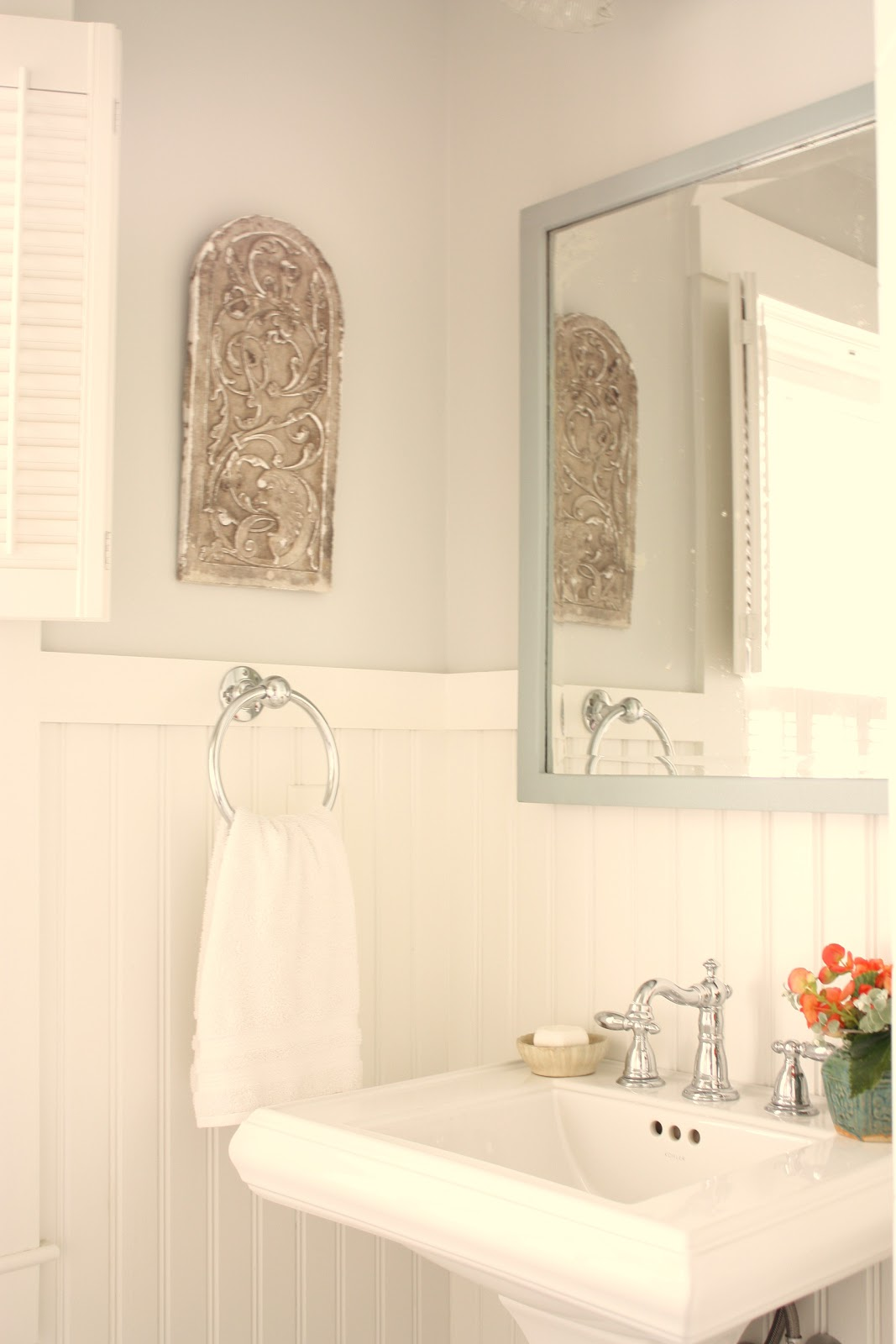 for the love of a house: the guest bath: details