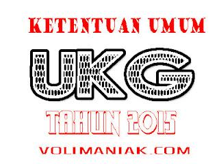 ketentuan UKG tahun 2015