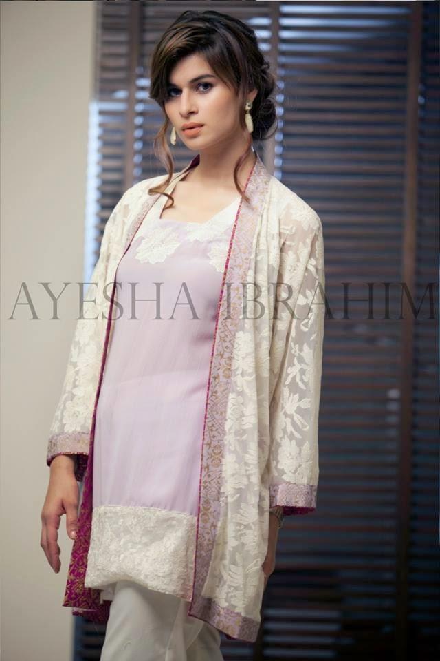 Ayesha Ibrahim Party Wear Collection 2014-2015   Stylish Pret ...