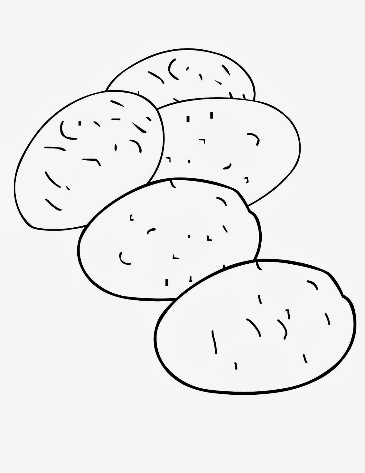 Potato 1 coloring page free printable coloring pages - Ree Coloring Pages Color Poster And Pictures In Vegetables Coloring Pages