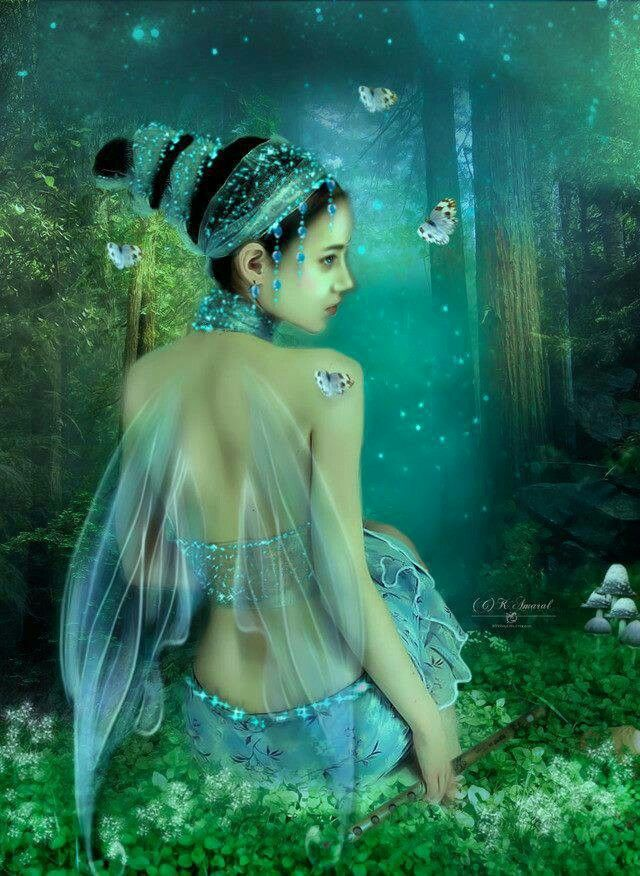 Blue Fairy of the Forest