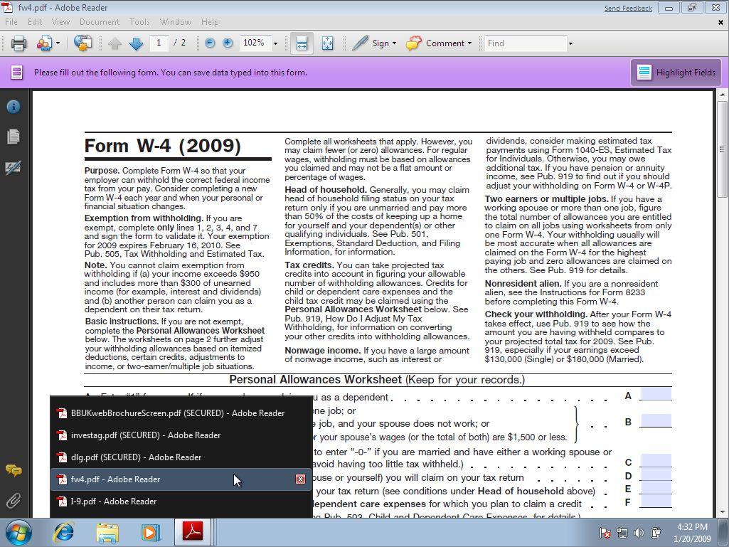 Tampilan Adobe Reader Terbaru