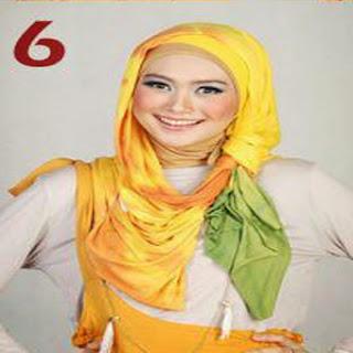Cara Memakai Jilbab Pashmina Yang Cantik Untuk Pergi Kepesta