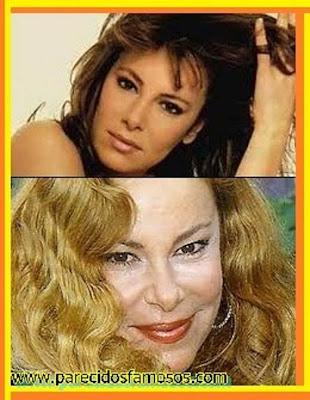 Ana Obregón  antes y después