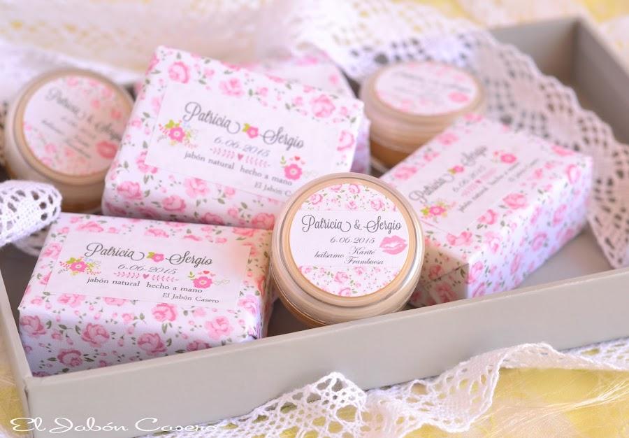 detalles de boda jabones y balsamos naturales de karite