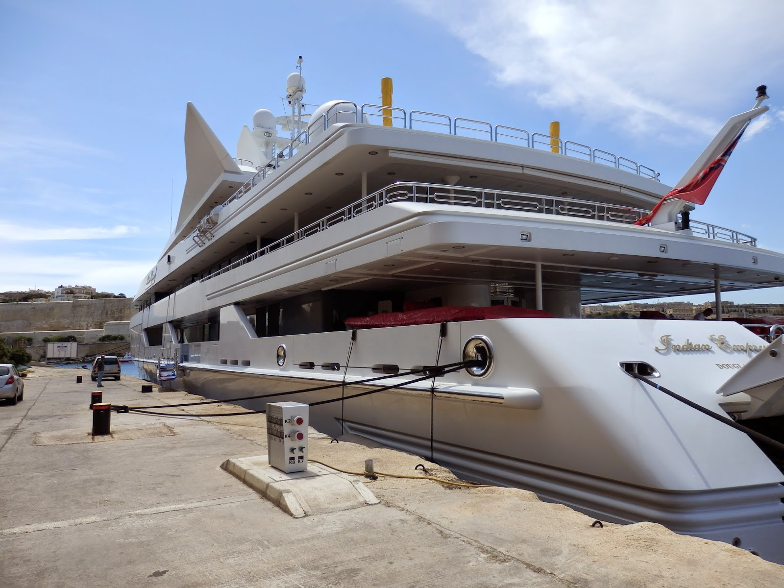 The $93 million boat
