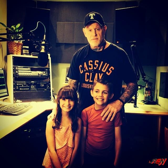 Recent Photo Of Undertaker With Kids.