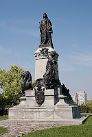 Queen Victoria at Parliament Hill Ottawa