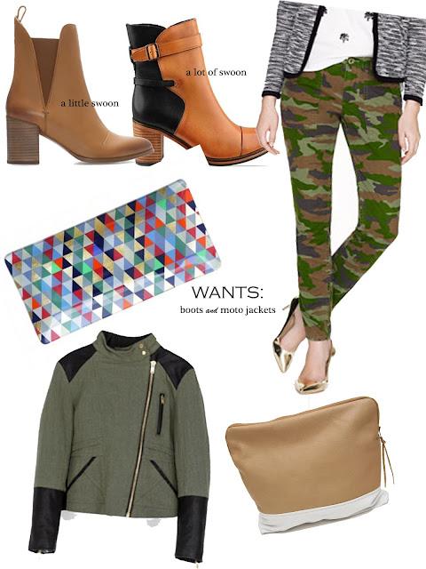jcrew, lulu and georgia, zara, fall, amo, clothes, boots, tray, pants, vegan leather, handbag, clutch, wish list, a hammer & heels