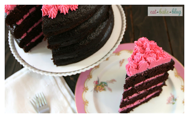 chocolate layer cake recipe best chocolate cake chocolate strawberry cake strawberry frosting