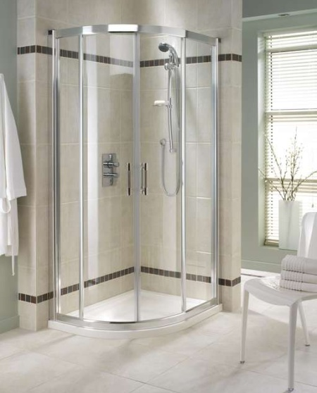 Small bathroom shower design architectural home designs for Standing shower bathroom ideas