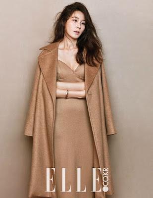 Kim Ha Neul Elle January 2016