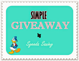 SIMPLE GIVEAWAY by Syeeda Saniey