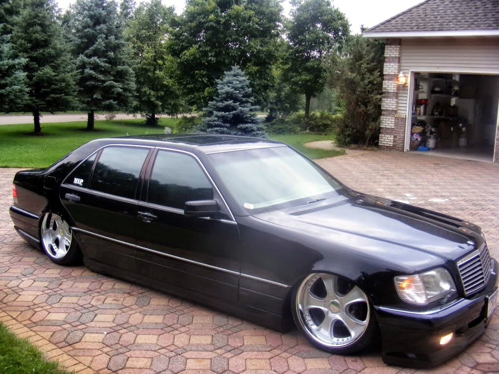 mercedes benz s500 w140 wald vip style benztuning. Black Bedroom Furniture Sets. Home Design Ideas